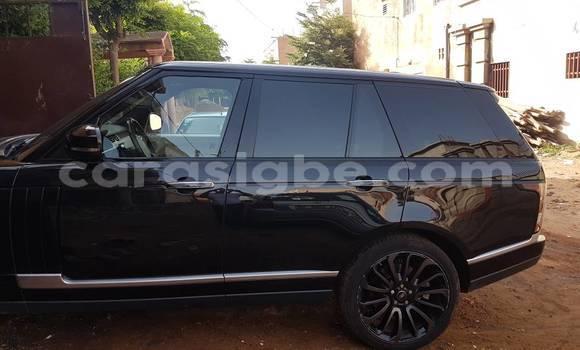 Acheter Occasions Voiture Land Rover Range Rover Vogue Noir à Lomé au Togo