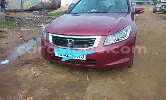 Acheter Occasions Voiture Honda Accord Rouge à Lomé au Togo