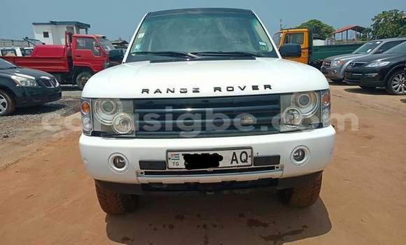 Acheter Occasions Voiture Land Rover Range Rover Vogue Blanc à Lomé au Maritime