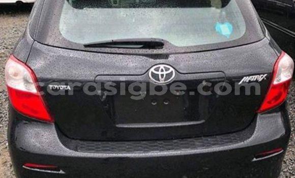 Acheter Occasions Voiture Toyota Matrix Noir à Lomé au Togo