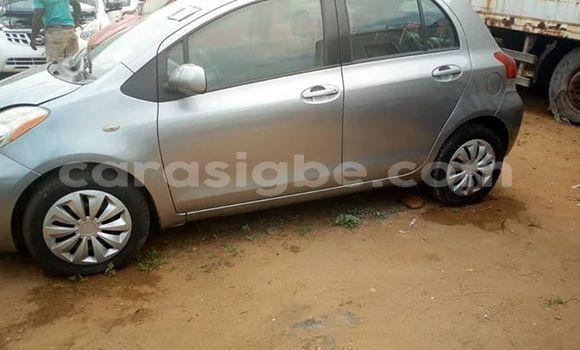 Acheter Occasions Voiture Toyota Yaris Gris à Lomé au Togo