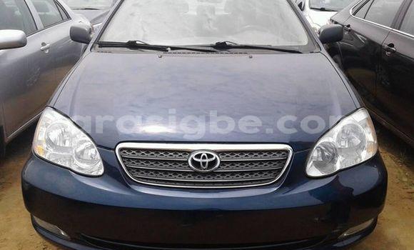 Acheter Occasions Voiture Toyota Corolla Bleu à Lomé au Maritime
