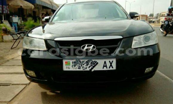 Acheter Occasions Voiture Hyundai Sonata Noir à Lomé au Maritime
