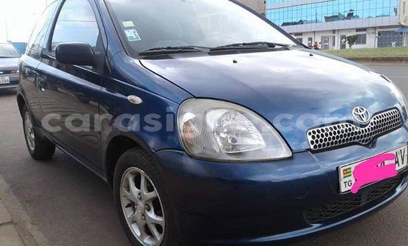 Acheter Occasion Voiture Toyota Yaris Bleu à Lomé, Maritime