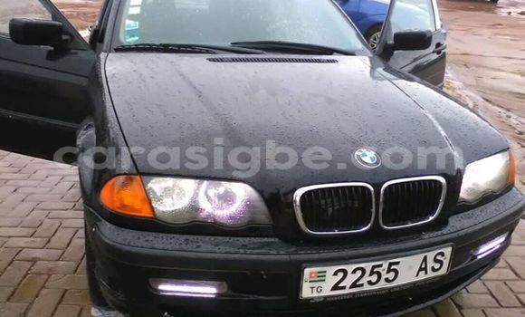 Acheter Occasion Voiture BMW 3–Series Noir à Lomé, Maritime