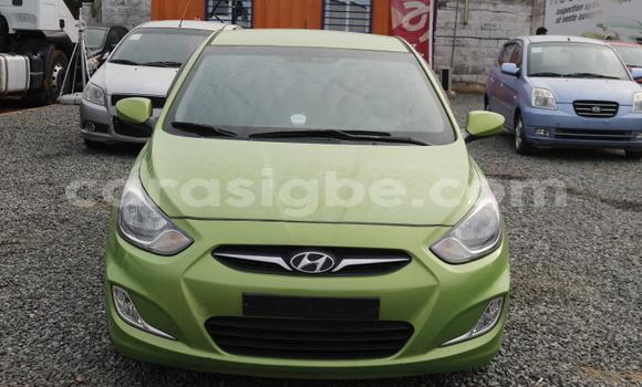 Acheter Occasion Voiture Hyundai Accent Vert à Lomé, Maritime