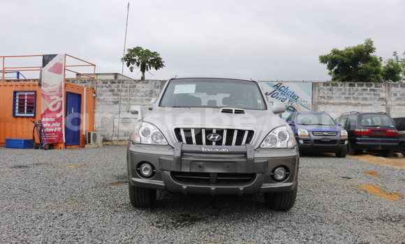 Acheter Occasion Voiture Hyundai Santa Fe Gris à Lomé, Togo