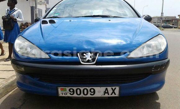 Acheter Occasion Voiture Peugeot 206 Bleu à Lomé, Maritime