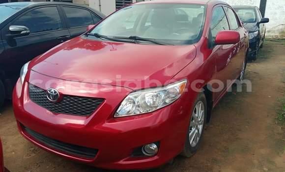 Acheter Occasion Voiture Toyota Corolla Rouge à Lomé, Maritime
