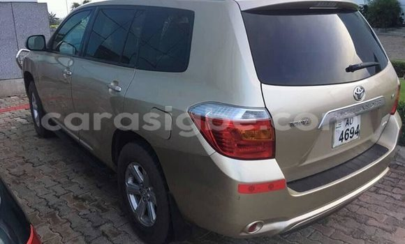 Acheter Occasion Voiture Toyota Highlander Gris à Lomé, Maritime