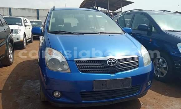 Acheter Occasion Voiture Toyota Corolla Verso Bleu à Lomé, Maritime