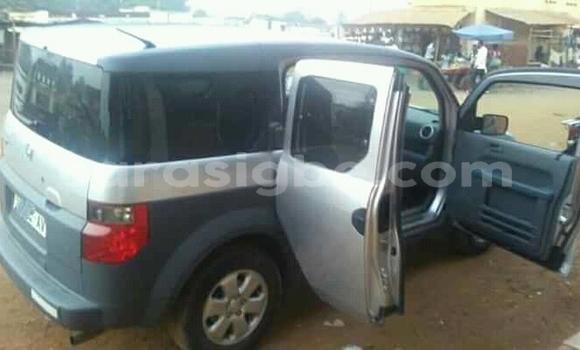 Acheter Occasion Voiture Honda Element Gris à Lomé, Maritime