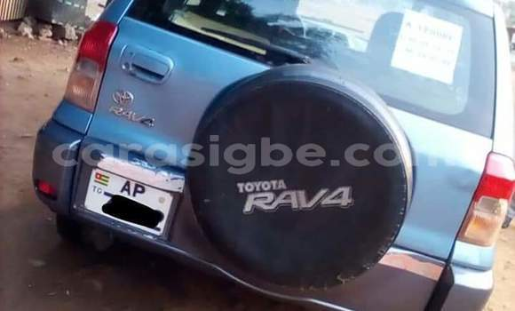 Acheter Occasion Voiture Toyota RAV4 Gris à Lomé, Maritime