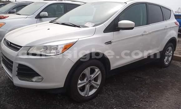 Acheter Occasion Voiture Ford Escape Blanc à Lomé, Maritime