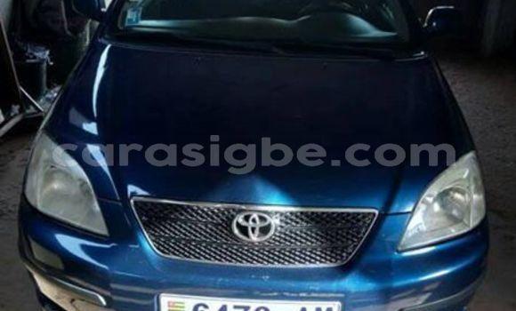 Acheter Occasion Voiture Toyota Corolla Bleu à Lomé, Maritime