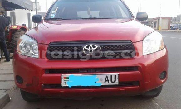 Acheter Occasion Voiture Toyota RAV4 Rouge à Lomé, Maritime