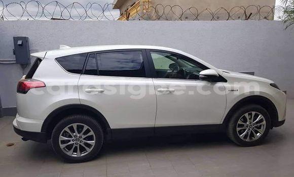 Acheter Occasion Voiture Toyota RAV4 Blanc à Lomé, Maritime