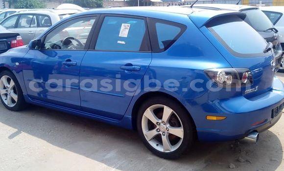 Acheter Occasion Voiture Mazda Mazda 3 Bleu à Lomé, Maritime
