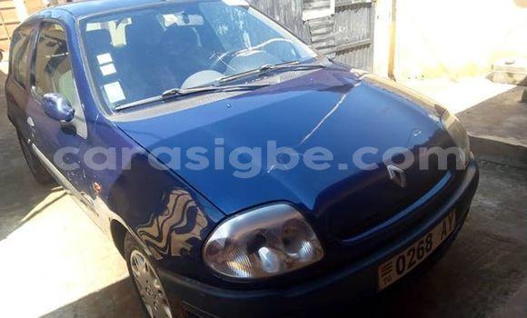Acheter Occasion Voiture Renault Clio Bleu à Lomé, Maritime