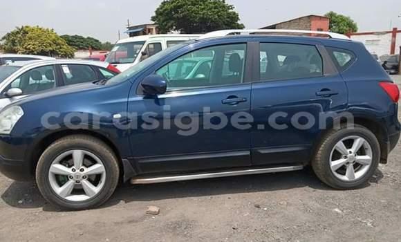 Acheter Occasion Voiture Nissan Qashqai Bleu à Lomé, Maritime