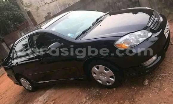 Acheter Occasion Voiture Toyota Corolla Noir à Lomé, Maritime