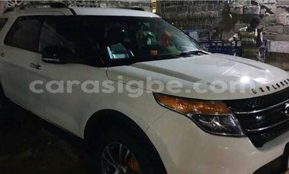 Acheter Occasion Voiture Ford Explorer Blanc à Lomé, Maritime