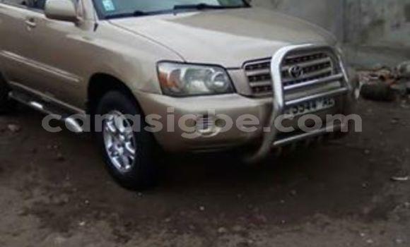 Acheter Occasion Voiture Toyota Highlander Beige à Lomé, Maritime