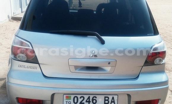 Acheter Occasion Voiture Mitsubishi Outlander Gris à Lomé, Maritime